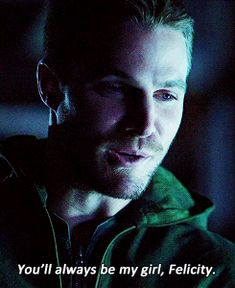 Pin for Later: All the Times Arrow's Oliver and Felicity Made Your Heart Physically Ache When He Says This Can't . . . breathe.