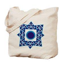 8 Star Pattern Tote Bag