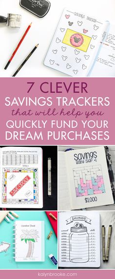 Stay motivated when saving up for a dream purchase by using a savings tracker printable in your bullet journal. Bullet Journal Savings Tracker, Bullet Journal Layout, Bullet Journals, Vacation Savings, Cruise Vacation, Savings Jar, Money Saving Tips, Saving Ideas, How To Stay Motivated