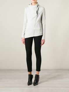 Shop Helmut Lang off centre zip jacket in Dolci Trame from the world's best independent boutiques at farfetch.com. Over 1000 designers from 300 boutiques in one website.