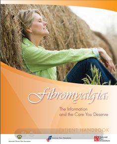 ACPA's Fibromyalgia Patient Handbook   http://www.theacpa.org/uploads/FibroHandbook.pdf