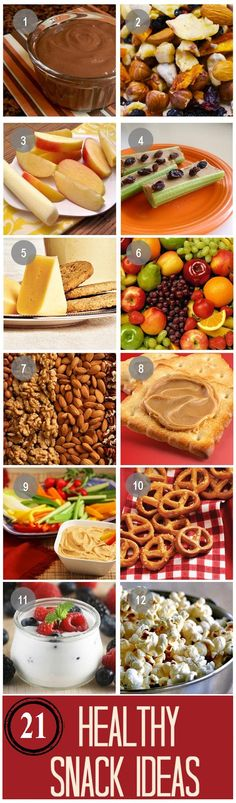 21 Healthy Snack Ideas You Should Try Today