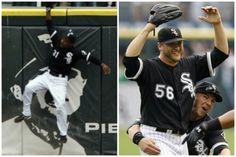 July 23, 2009 Thanks to a spectacular grab of Gabe Kapler's near-home run in the ninth inning by defensive replacement DeWayne Wise, Mark Buehrle tosses the 18th perfect game in major league history, a 5-0 gem over the Rays at U.S. Cellular Field. The 30 year-old southpaw, who received a congratulatory call from President Obama, a big White Sox fan, becomes the second pitcher in franchise history to throw two hitless game for the team.