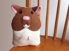 Adorable Stuffed Toy Hamster (looks rather like my old Guinea Pig)