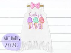 Ice Cream Birthday Outfit Two Sweet One Birthday Outfit Ice Cream Birthday Dress Ice Cream Leotard Girls Birthday Outfit - Ice Cream & Cupcake Birthday Parties - 2nd Birthday Outfit, 1st Birthday Girls, Birthday Dresses, Birthday Party Themes, Birthday Ideas, Ice Cream Cupcakes, Ice Cream Party, Cupcake Birthday, Cupcake Party