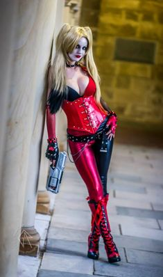 Harley Quinn Cosplayer: Lady Jaded * Photographer: Gary Parris