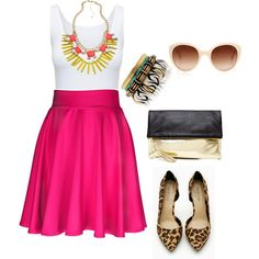 """""""Pretty in pink"""" by char2709 on Polyvore"""
