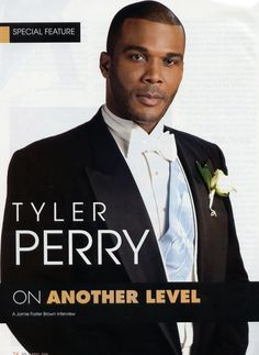 Tyler Perry, Producer, Writer, Actor, TP Productions, Singer
