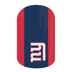 Get gameday style with Jamberry's NFL Collection. Our officially licensed NFL products feature your favorite team logo and colors so you can cheer your team to victory with 'New York Giants' on your nails. New York Giants Logo, New York Giants Football, Jamberry Fall, Jamberry Nail Wraps, Disney Nail Designs, Disney Nails, Easy Nail Art, New England Patriots, You Nailed It
