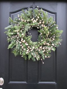 Wreaths Winter Wreaths New Year's Wreaths Holiday by twoinspireyou