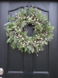 Wreaths Winter Wreaths New Year's Wreaths Holiday by twoinspireyou
