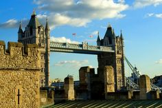 London bridge... from the tower of London