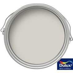 Dulux Standard Pebble Shore - Matt Emulsion Paint - 2.5L at Homebase -- Be inspired and make your house a home. Buy now. Grey Paint