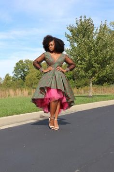Hi-Low and Maxi Dress Styles. Lined with tulle for extra skirt flare. Multiple Patterns/Colors Available. Check out our Kente crossbody and duffle bags! African Fashion Designers, Latest African Fashion Dresses, African Dresses For Women, African Print Dresses, African Print Fashion, African Attire, African Wear, African Skirt, Africa Fashion