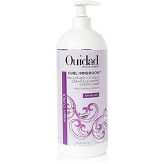Ouidad Curl Immersion Coconut Cleansing Cream Conditioner-No Lather 33.8 oz