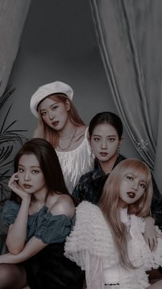 blackpink in the revolution; Yg Entertainment, South Korean Girls, Korean Girl Groups, Kpop, Seoul, Pink Official, Blackpink Members, Picture Icon, Cute Rose