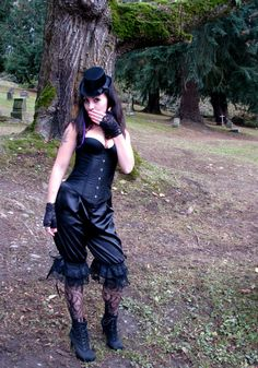 Victorian Bloomers, Naughty Knickers, Steampunk clothing, Gothic bloomers Made to order sizes 6-26 US