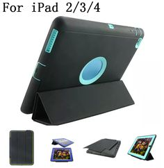 New style original quality Hard Silicone Rubber Case Cover For Apple ipad 2/3/4 display for Apple iPad logo,SKU 0114BFB