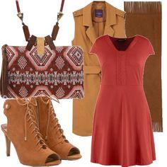 Aurore  outfit donna Ethnic per scuola universit  e ufficio  b4f901865de