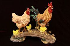 Rooster Family   ~Feng shui, symbolize love and commitment