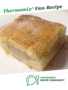 Apple slice with Biscuit pastry by Luisa B3. A Thermomix <sup>®</sup> recipe in the category Baking - sweet on www.recipecommunity.com.au, the Thermomix <sup>®</sup> Community.