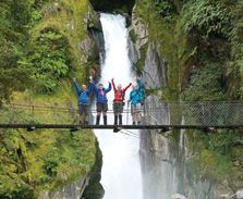 Take a walk, a Great Walk, through some of New Zealand's most awe-inspiring landscapes on premier walking tracks. Milford Track, New Zealand Landscape, Great Walks, How Do I Get, Parks And Recreation, Places To Go, Waterfall, Beautiful Places, Walking