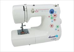 Šicí stroj Lucznik 848 Gosia - sewing machine Gosia Sewing, Products, Embroidery, Dressmaking, Couture, Stitching, Sew, Costura, Gadget