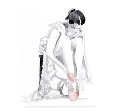 Ballerina decor, Vintage ballerina art print, Fashion wall art, Original portrait girl, Limited edition 13 x 19 by Elena Romanova Port Love. via Etsy. Vintage Ballerina, Ballerina Art, Ballet Art, Ballet Dance, Ballet Drawings, Ballet Painting, Fashion Wall Art, Dance Art, Dance Photography