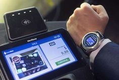 In this Aug. 25, 2016, photo, the Samsung S3's Samsung Pay feature is demonstrated in New York. The smartwatch comes with expanded ability to make payments at stores. As a result, there's now PIN protection on the watch, though it isn't automatically activated until the user sets up Samsung Pay.
