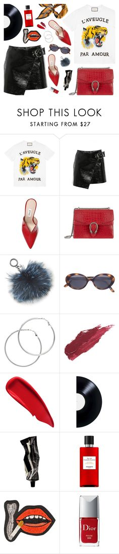 """""""L'aveugle Par Amour"""" by amalieknygberg ❤ liked on Polyvore featuring Gucci, Isabel Marant, Attico, Michael Kors, Oliver Peoples, Melissa Odabash, Lily Lolo, Sisley, Aesop and Hermès"""