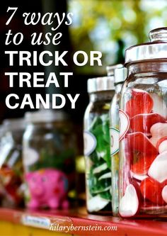 Have a sugary stash from Halloween? Here are seven ways to use trick or treat candy!