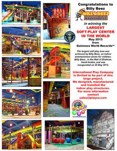 LARGEST ‪#‎SoftPlay‬ Centre in the World - designed manufactured & installed by #Iplayco - Commercial Play Structures Playground Equipment | Flickr - Photo Sharing!