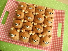 How to make Rilakkuma Pull-apart Bread ♪The bread has a subtle sweetness of milk and cocoa that's delicious^^ ただいま流行中のちぎりパンでリラックマを作ってみました(^ω^)/ ふんわりやわらか食感♪ 味...