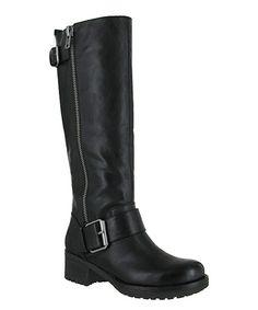 Black Peterson Boot #zulily #zulilyfinds