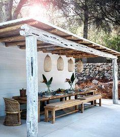 garden ideas | outdoor dining