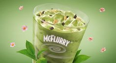 MCFlurry green tea on Behance