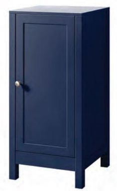 Sapphire Blue Elegance Collection - Sapphire Blue Elegance side cabinet (Code: EXQ4055) 400w x 800h x 400d mm