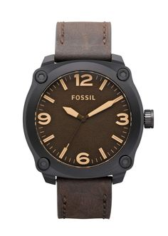 Fossil Men's Watches Leather