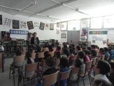 Celebración del día del libro con la colaboración de compañeras y madres  CEIP Reyes Católicos de Santa Fe