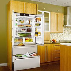 "Liebherr Fully Integrated 36"" Model 2062 - with cabinetry doors. I love this fridge so much!"