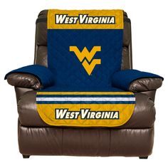 NCAA West Virginia Mountaineers Recliner Protector