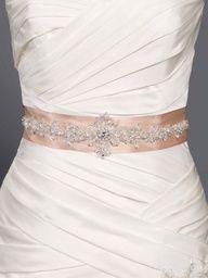 Beautiful wedding belt