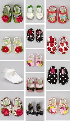 {Baby Mary Janes} These patterns are so sweet...