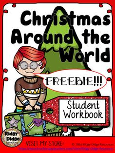 **FREE** Christmas Around the World Student Workbook - Australia **FREE** Christmas Around the World Student Workbook - Australia Christmas Around the World Freebie - Australia History Activities, Holiday Activities, Classroom Activities, Toddler Activities, Christmas Activities For School, Christmas Worksheets, Steam Activities, Reading Activities, Christmas Printables