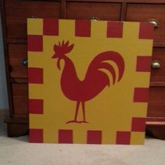 Rooster Shed Quilt