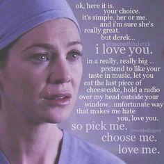 Pick me! Choose me! Love ME