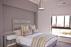 Our bed linen as used in a Cape Town private home. Thanks for letting us share the pics.