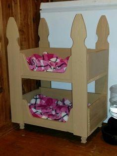 Doggie Bunk Beds!!
