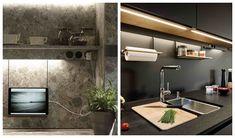 Cocinas de Lujo Sink, Bathtub, Home Decor, Lowes Kitchen Cabinets, Furniture Layout, Luxury Kitchens, Kitchen Design, Sink Tops, Standing Bath