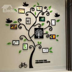 Aliexpress New 2014 Happy tree photo frame crystal wall stickers Acrylic three-dimensional wall stickers entranceway photos of wall sofa on Aliexpress IFound Acrylic Entranceway Happy Three-dimensional Tree Wall Family Wall Decor, Family Tree Wall, Wall Art Decor, Family Trees, Wall Decorations, Family Tree Photo, Photo Tree, Cheap Wall Stickers, Wall Stickers Family